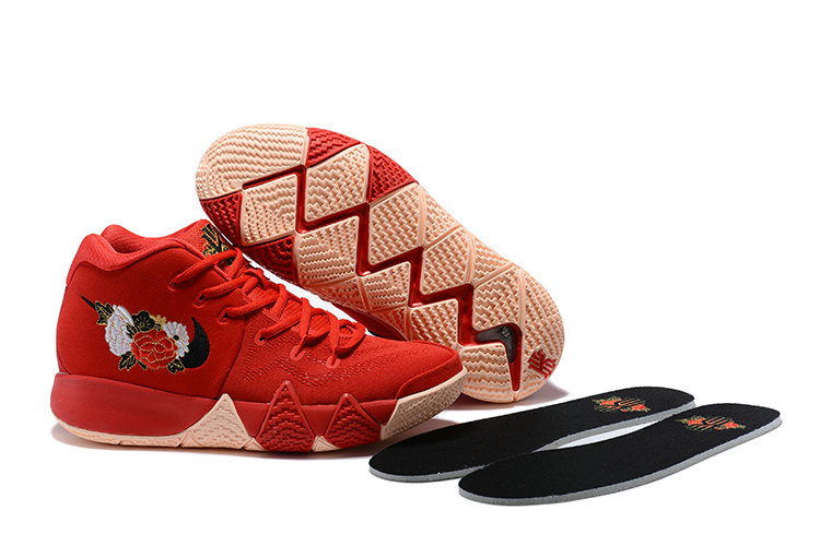 Cheap Wholesale Nike Kyrie Shoes x Cheap Wholesale Womens Kyrie 4 CNY University Red Black-Team Red 943807-600