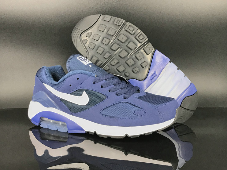 2018 Nike Air Max 180 Purple White Mens Cheap Wholesale Sale