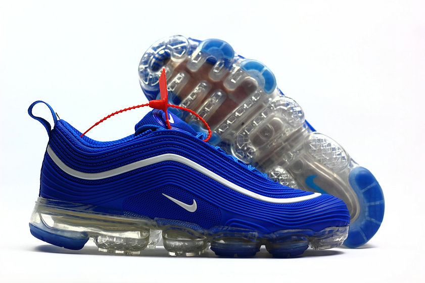 new style 19758 6ff6a 2018 Nike Air Max 97 Ultra VaporMax Royal Blue White - China ...