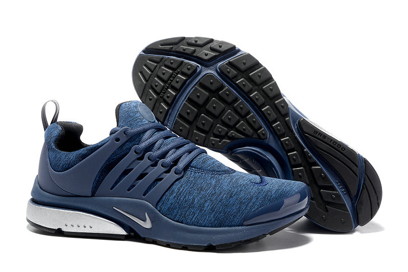 2018 Nike Air Presto BR QS Blue White Black Cheap Wholesale Sale
