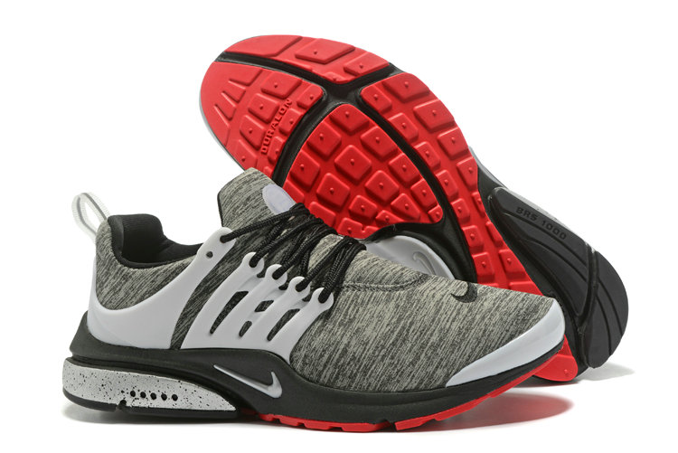2018 Nike Air Presto BR QS Grey Red White Black Cheap Wholesale Sale