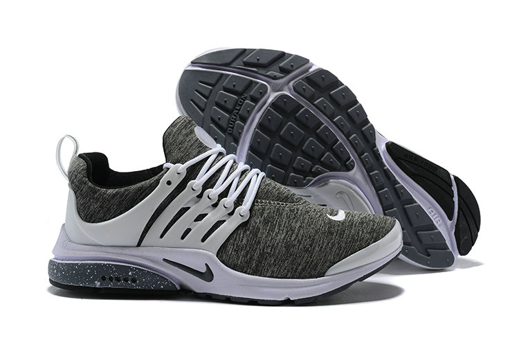 2018 Nike Air Presto BR QS Grey White Black Cheap Wholesale Sale