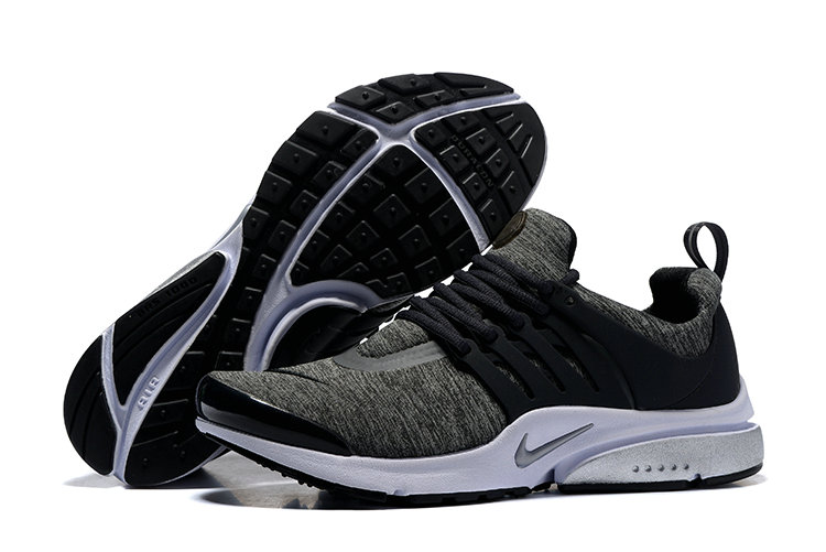 2018 Nike Air Presto BR QS White Grey Black Cheap Wholesale Sale