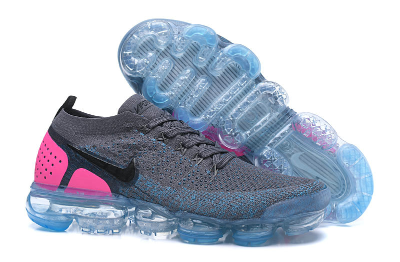 the best attitude f1275 252df 2018 Nike Air VaporMax Flyknit 2.0 Grey Jade Green Grey Cheap Wholesale Sale