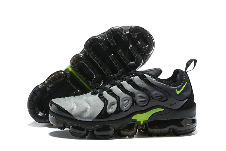 2018 Nike Air VaporMax Plus Grey Black Green Cheap Wholesale Sale