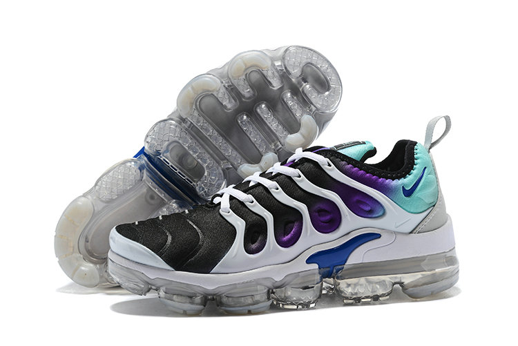 2bdea0b2a477d 2018 Nike Air VaporMax Plus Purple Black White Green Cheap Wholesale Sale