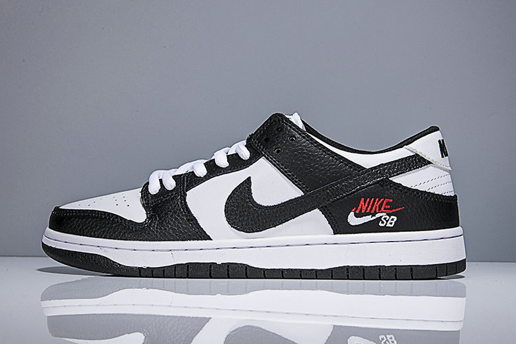 Cheap Wholesale Nike SB Dunk x Cheap Wholesale Nike Dunk Low Elite SB Black White