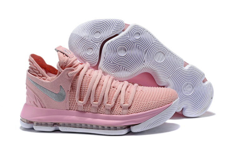 Cheap Wholesale Nike Kevin Durant x Cheap Wholesale Nike KD 10 Aunt Pearl Pink Pearl White-Sail