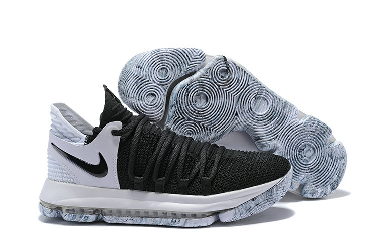 Cheap Wholesale Nike Kevin Durant x Cheap Wholesale Nike KD 10 Black And White Colorways