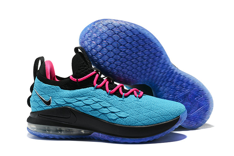 d785a4301aed 2018 Nike Lebron 15 Low Pink Jade Cheap Wholesale Sale - China ...