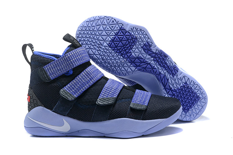 2018 Nike Lebron Soldier 11 XI Navy Blue Bright Cheap Wholesale Sale