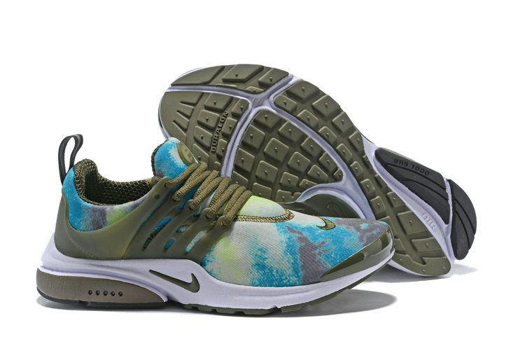 Cheap Wholesale Nike Air Presto x Cheap Wholesale Nike Air Presto Olive White Blue