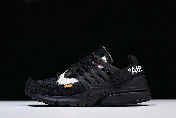 cfacc76c3b40 Cheap Wholesale 2018 Off-White x Nike Air Presto Black White-Cone AA3830-