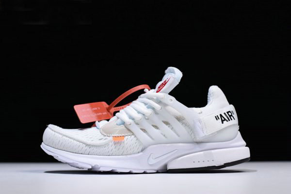 ff98a6a9956 Cheap Wholesale 2018 Off-White x Nike Air Presto in White AA3830-100 Free