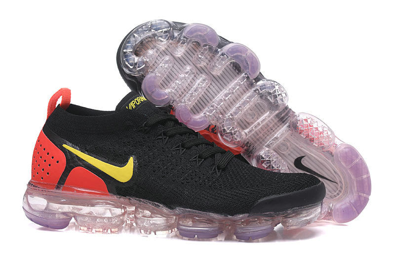 26d7f1cfb7a 2018 Womens Nike Air VaporMax Flyknit 2.0 Yellow Red Black - China ...
