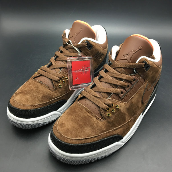Cheapest Wholesale Sale Nike Air Jordans 4 (IV) Retro Brown Black White For Mens