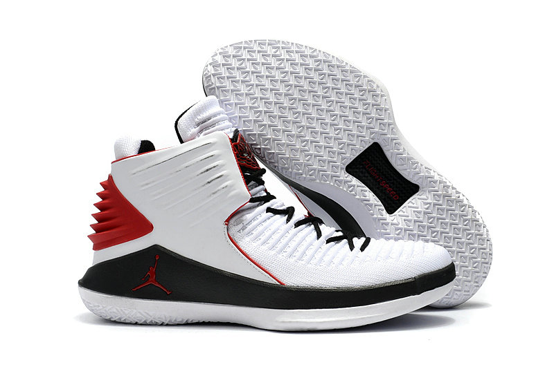 Cheapest Wholesale Sale Nike Air Jordans 32 (XXXII) Retro White Red Black For Kids