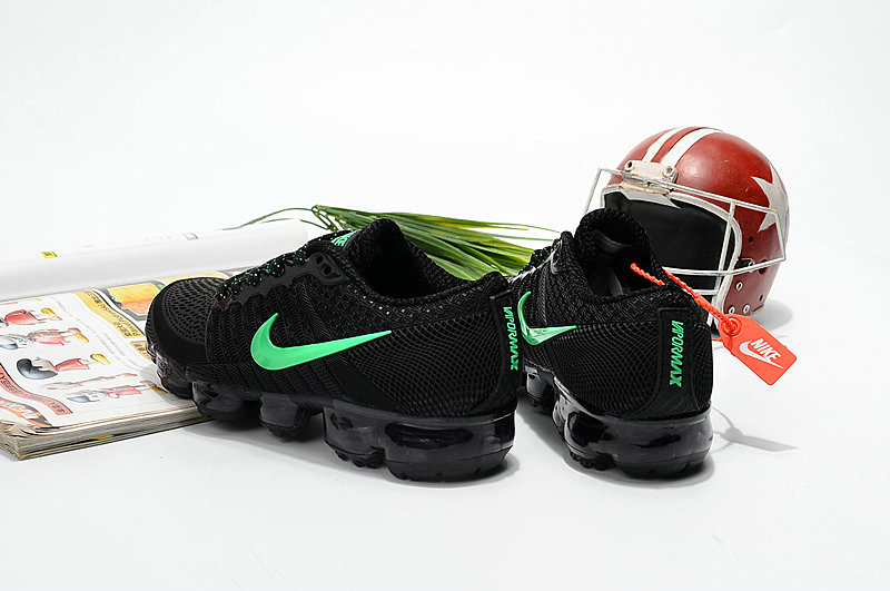 Cheapest Wholesale Sale Nike Air VaporMax For Kids Black Green