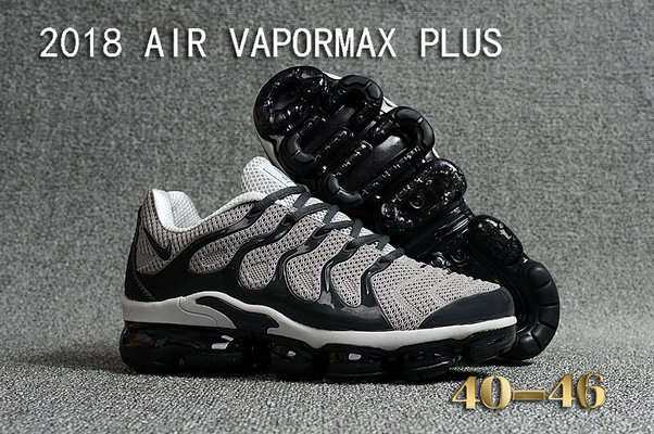 Cheapest Wholesale Sale Nike Air VaporMax Plus Mens Grey Black White