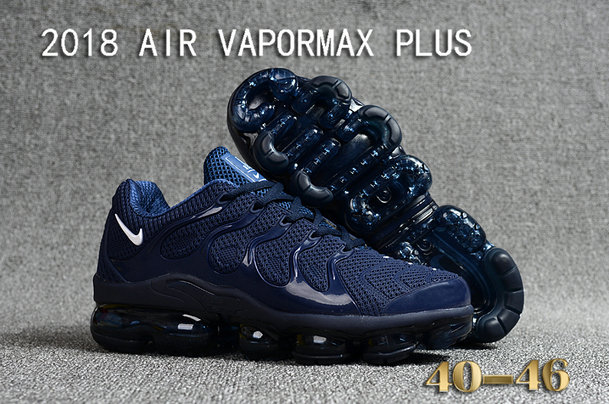 Cheapest Wholesale Sale Nike Air VaporMax Plus Mens Navy Blue White