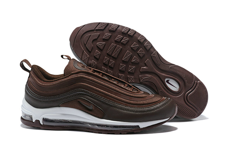 Cheapest Wholesale Sale Nike Air Maxs 97 Mens Ultra 17 SE Chocolate White Black