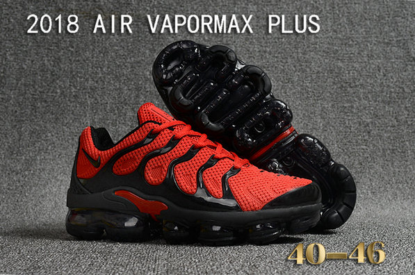 Cheapest Wholesale Sale Nike Air VaporMax Plus Mens University Red Black