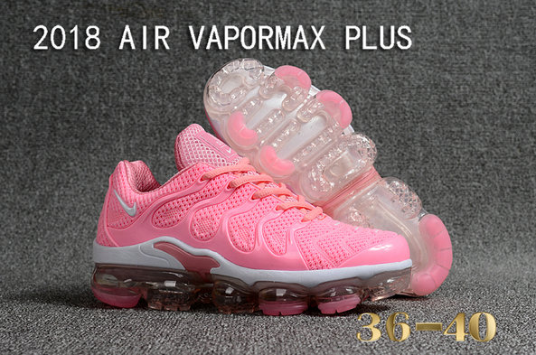 Cheapest Wholesale Sale Nike Air VaporMax Plus Womens All Pink White