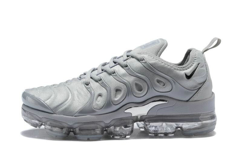 Cheapest Wholesale Sale Nike Air VaporMax Plus Womens Grey Silver