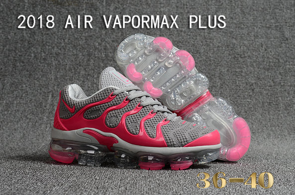 Cheapest Wholesale Sale Nike Air VaporMax Plus Womens Pink Grey