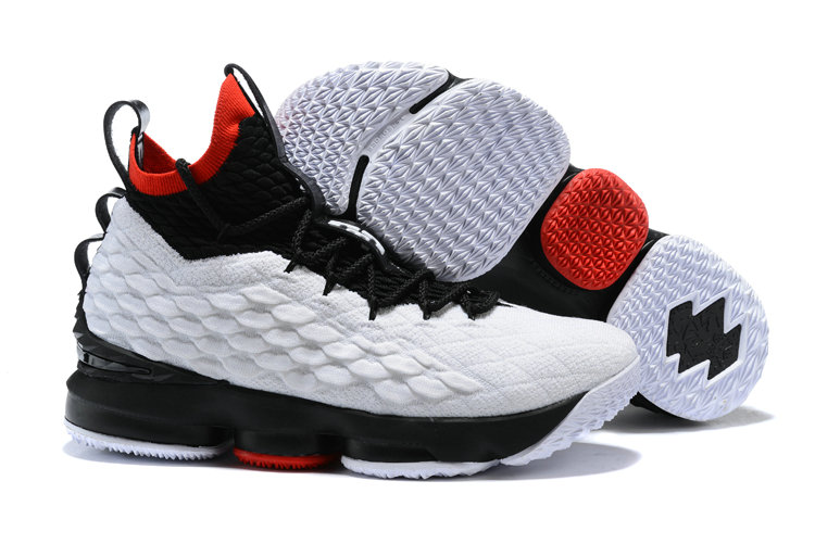 Cheapest Wholesale Sale Nike Lebron 15 (XV) China Red Black White For Mens