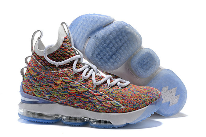 Cheapest Wholesale Sale Nike Lebron 15 (XV) Colorful For Mens