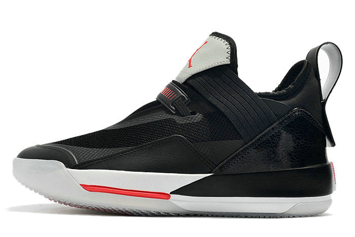 Where To Buy 2019 Air Jordan 33 SE Black Cement Black Fire Red-Particle Grey-Sail CD9560-006