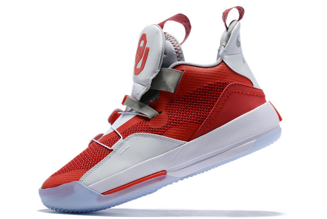 Where To Buy 2019 Air Jordan 33 XXXIII University Red White-Grey For Sale