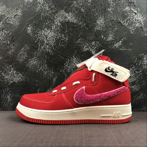 Wholesale Cheap 2019 Cheap Emotionally Unavailable x Nike Air Force 1 High Team Red Sail Pink Blast Equipe Rouge AV5840-600