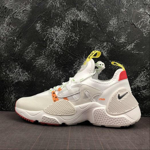 Wholesale Cheap 2019 Cheap Heron Preston x Nike Huarache E.D.G.E. Blanche Rouge Jaune CD5779-100