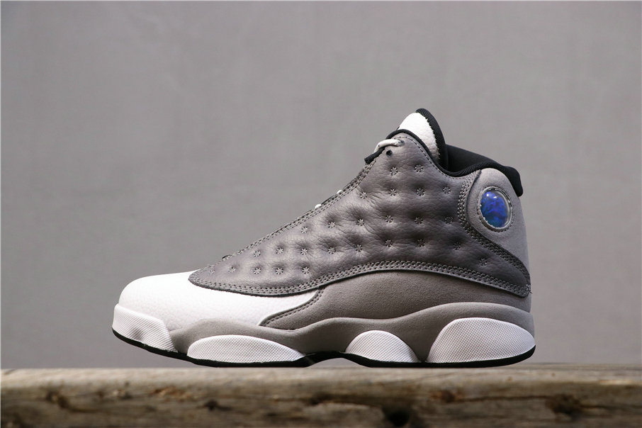 Wholesale Cheap 2019 Cheap Nike  Air Jordan 13 Atmosphere Grey 414571-016