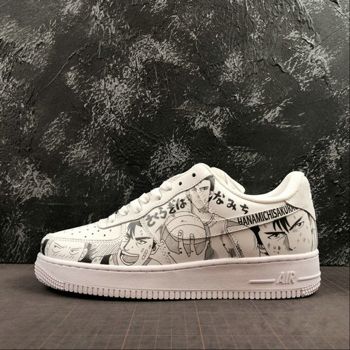 Wholesale Cheap 2019 Cheap Nike Air Force 1 07 Low Unisex Casual Shoes White Blanc 315122-136