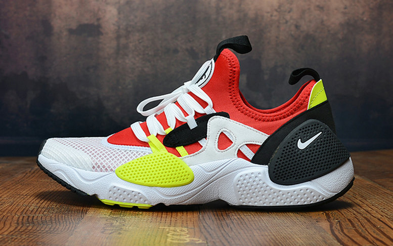 Wholesale Cheap 2019 Cheap Nike Air Huarache 8 Edge TXT OG Red White Black Yellow