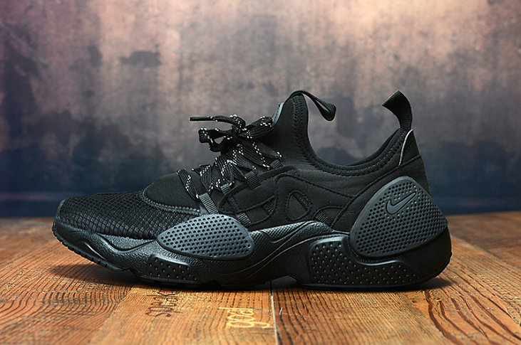 Wholesale Cheap 2019 Cheap Nike Air Huarache 8 Edge TXT OG Triple Black