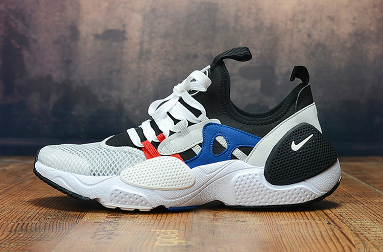 Wholesale Cheap 2019 Cheap Nike Air Huarache 8 Edge TXT OG White Black Blue Red