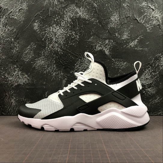 Wholesale Cheap 2019 Cheap Nike Air Huarache Run Ultra White Black