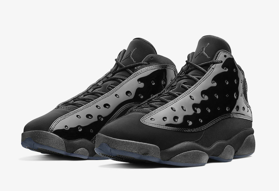 Wholesale Cheap 2019 Cheap Nike Air Jordan 13 Cap and Gown Black 414571-012