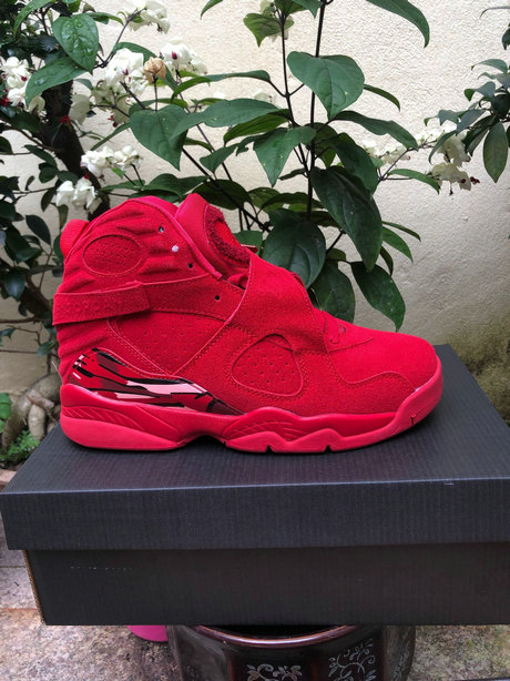 Wholesale Cheap 2019 Cheap Nike Air Jordan 8 Gym Red Ember Glow-Team Red AQ2449-614