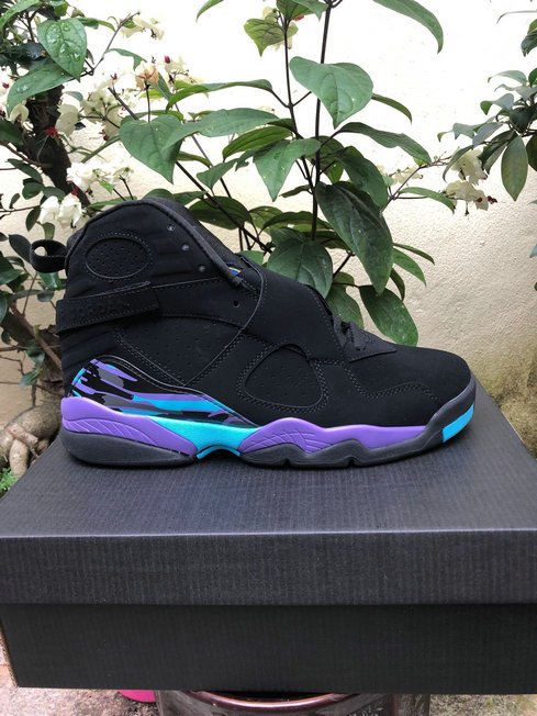 Wholesale Cheap 2019 Cheap Nike Air Jordan 8 Retro Aqua Black Bright Concord-Aqua 305381-041