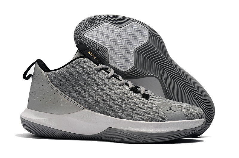 Wholesale Cheap 2019 Cheap Nike Air Jordan CP3.XII Wolf Grey Black