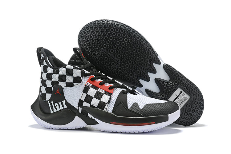 Wholesale Cheap 2019 Cheap Nike Air Jordan Mens Why Not Zer0.2 Basketball Shoes White Black Red