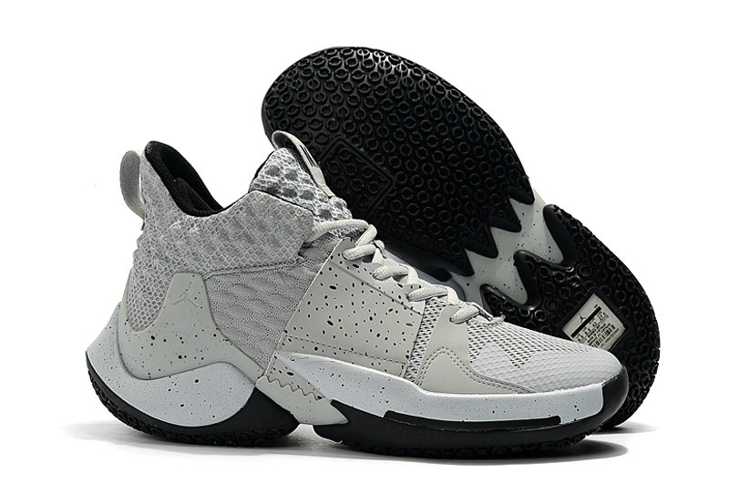 Wholesale Cheap 2019 Cheap Nike Air Jordan Mens Why Not Zer0.2 Basketball Shoes White Black School