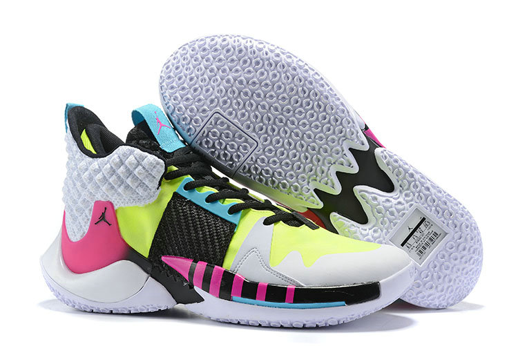Wholesale Cheap 2019 Cheap Nike Air Jordan Why Not Zer0.2 White Black Purple Pink