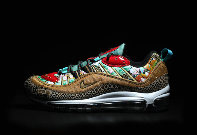 Wholesale Cheap 2019 Cheap Nike Air Max 98 Chinese New Year 2019 Multi BV6649-708