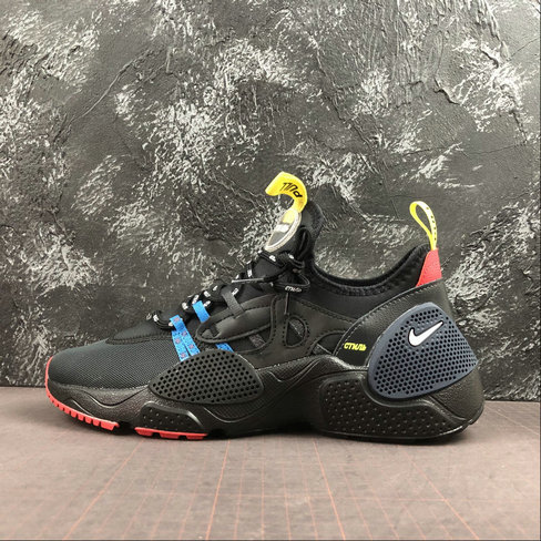 Wholesale Cheap 2019 Cheap Nike HUARACHE E.D.G.E. HP BLACK OFF NOIR-DARK OBSIDIAN-LT CRIMSON